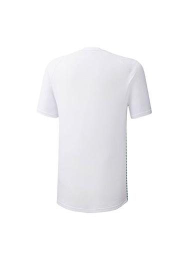Mizuno Shadow Polo Erkek T-shirt Beyaz Beyaz